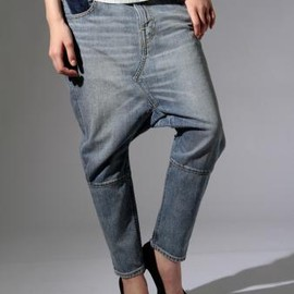 LEVI'S - Salel pants Cropped/Custom Finish/Limited Model