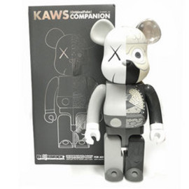 Original Fake, MEDICOM TOY - 人体模型 COMPANION BE@RBRICK 400%/Gray