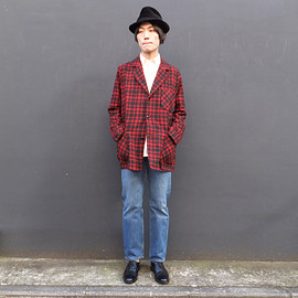 used, vintage - 【PENDLETON】VINTAGE WOOL JACKET ビンテージウールジャケット
