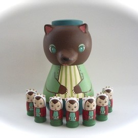 KIMURA & Co. - Matryoshka doll (The Wolf and the Seven Young Kids)