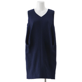 ENFOLD - V-NECK COCOON DRESS