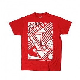 T-shirt Disobey (Red)