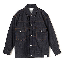 HYKE - DENIM JACKET TYPE2(BIG FIT)-ORB