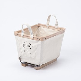Steele canvas basket - STEELE CANVAS BASKET SQUARE