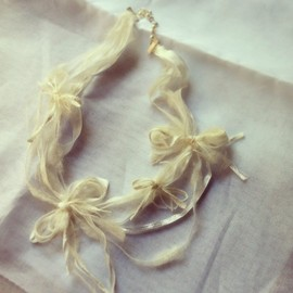 marie non-non - [Order-made]Wedding neckless