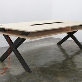 Miguel de la Garza - Work Table 002