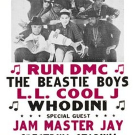 Art.com  - Run DMC, The Beastie Boys, LL Cool J,and Whodini- Philadelphia's First All Rap Spectacular Music MasterPoster Print, 11x17