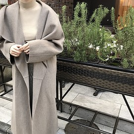 nuebyas - handmade long coat