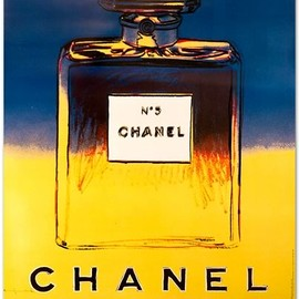 Andy Warhol - NO5 CHANEL Navy/Yellow