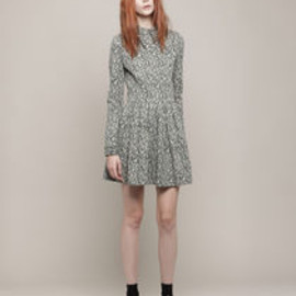 opening ceremony - Pointed Collar Dress