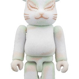 MEDICOM TOY - BE@RBRICK 白いねこ 100%