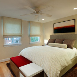 Old Town Home Made New eclectic bedroom