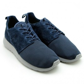 NIKE - Roshe Run Premium - Mesh & Suede (Thunder Blue/Stealth-Thunder Blue)