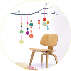 MIMI'lou - Wall Sticker string-of-pearls