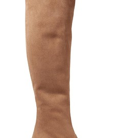 Saint Laurent - BB suede over-the-knee boots
