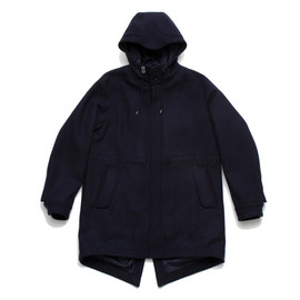 White Mountaineering Wardrobe - WOOL MELTON MODS COAT