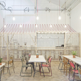 Weston Surman & Deane - Royal College of Art Student Union Cafe, Battersea, London