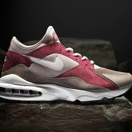 Nike, Size? - Air Max '93 (Metals) - Burnt Red