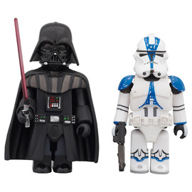 MEDICOM TOY - STAR WARS™ KUBRICK DARTH VADERS™ & 501st LEGION CLONE TROOPER™ 2PACK