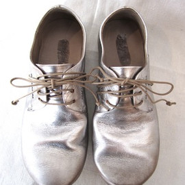 Marsell - silver oxford