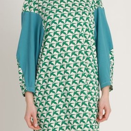 Eley Kishimoto - AW1213 THOUSAND PHEASANTS WEEBLE TUNIC - EVER GREEN