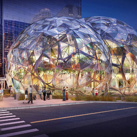 Seattle WA, USA - seattle approves amazon's biosphere headquarters by NBBJ
