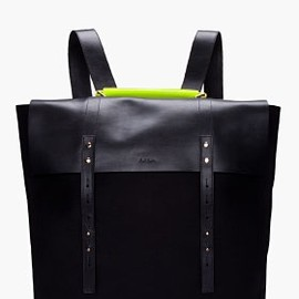 Paul Smith - PAUL SMITH  Neon Handle Mainline Backpack
