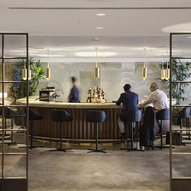 Hong Kong, Cathay Pacific, First Class Lounge - The Pier