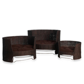 The Refined Canine™ Wicker Dog Day Bed