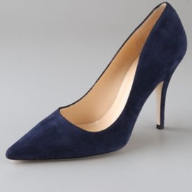 Kate Spade New York -  Licorice Suede Pumps