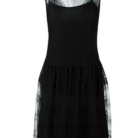 Alberta Ferretti - sleeveless lace dress