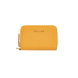 Palace Skateboards - LEATHER WALLET YELLOW