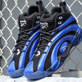 Reebok - REEBOK SHAQNOSIS BLACK/TRUTH BLUE/WHITE