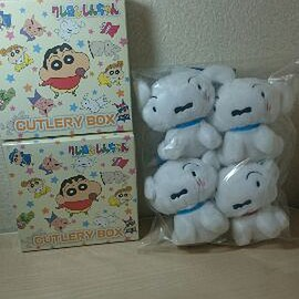 Shin-chan - Shin-chan goods set of 6 shinchan toy plush dog
