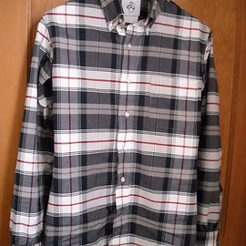 BLACK FLEECE BY Brooks Brothers - Plaid Shirt