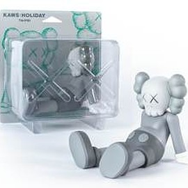 "KAWS - KAWS:HOLIDAY Limited 7"" (Grey) Vinyl Figure"