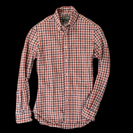 Gitman Vintage - Picnic Check Button Down in Blue & Red