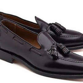 Brooks Brothers - Cordovan Tassel Loafers Brooks Brothers Alden
