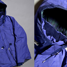 white mountaineering  - PERTEX CHAMBRAY DOWN JACKET