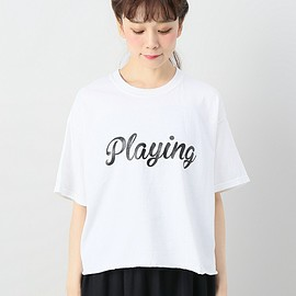 FUNG - カットオフBIGT(PLAYING)◆(Tシャツ/カットソー)
