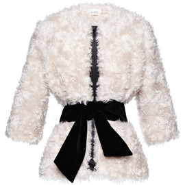ISA ARFEN - Freddie Jacket With Incorporated Velvet Belt