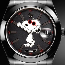 """Snoopy"" Rolex Datejust for colette"