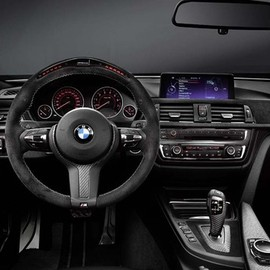 The recently announced 2014 BMW M4 with M-Performance styling - The recently announced 2014 BMW M4 with M-Performance styling