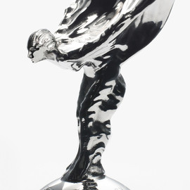 Rolls-Royce - The Flying Lady, otherwise know as Spirit of Ecstasy, hood ornament of Rolls Royce.