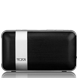 TUMI - Wireless Portable Speaker with Powerbank - Black/Silver
