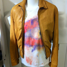 Maison Martin Margiela - LAMB LEATHER BLOUSON:2013ss