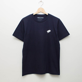 cup and cone - Basic Tee - Navy