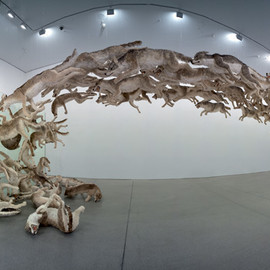 "Cai Guo-Qiang - ""Head On"""