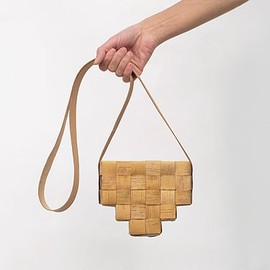 Birch Pixel - crafty handbag