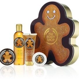 THE BODY SHOP - GINGER SPARKLE HOLIDAY COFFLET